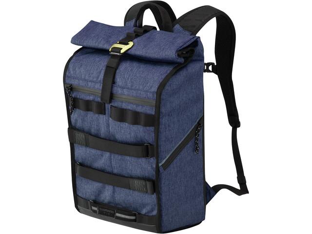 Shimano Tokyo Backpack XL melange navy